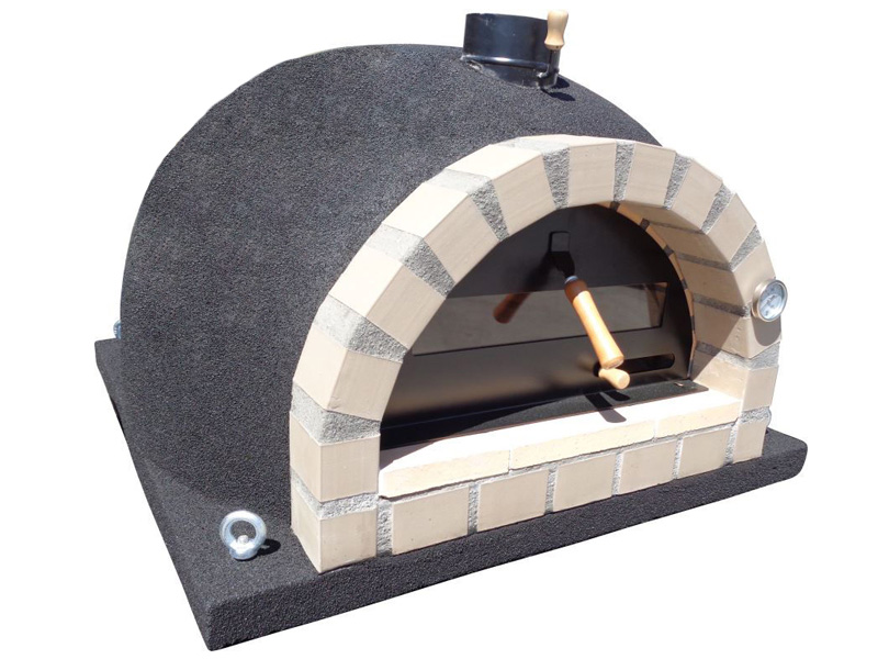 Brick Outdoor Wood Fired Pizza Oven 100cm White Pro-italian Stone Wide Selection; Yard, Garden & Outdoor Living