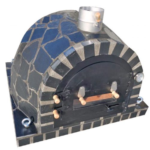 Traditional oven – Black Stone Slate Mosaic Model