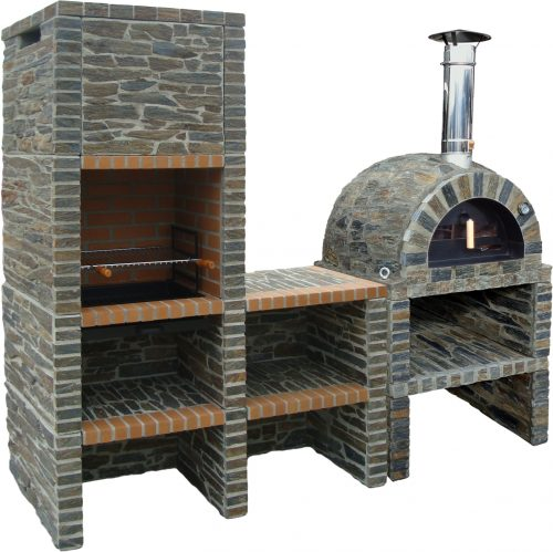 Traditional oven – Natural Grey Stone Model II