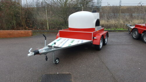 Mobile Wood (or gas) Fired Pizza Oven - Side Version - built to order