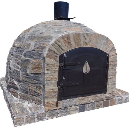STOCK CLEARANCE MUST GO Traditional oven – Natural Grey Stone Model 100cm Brick