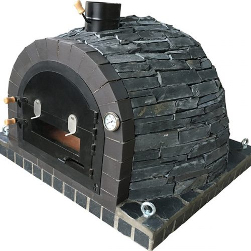 Traditional oven — Vegas Black Rustic Stone Model