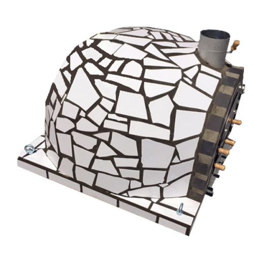 White Mosaic Ibiza Model