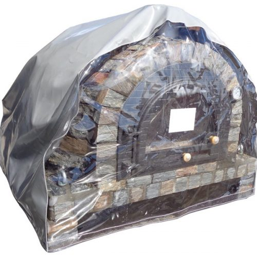 Oven rain / protection cover