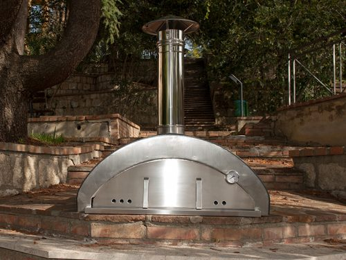 Stainless steel oven Pizzaiolo