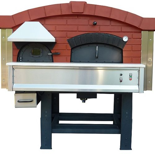 Series DR — Wood Fired & Rotating Floor