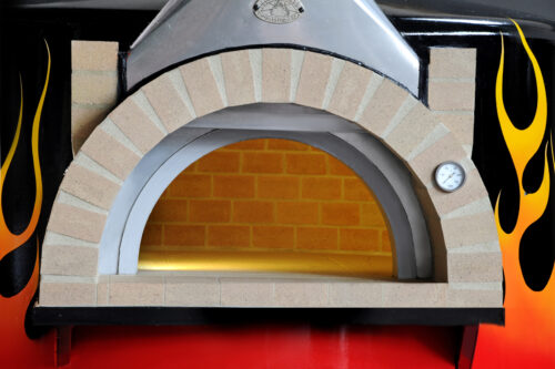 Artisan Commercial Wood Fired Oven - Metal or Rendered Body