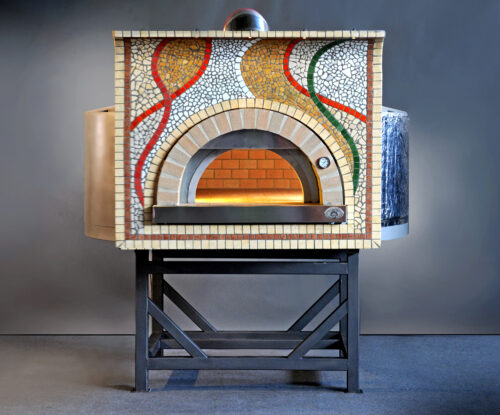 Artisan Commercial Wood Fired Oven - Customised Mosaic