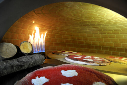 ARTISAN Commercial Dual fuel Wood & Gas Pizza Oven -  Metal or Rendered Body