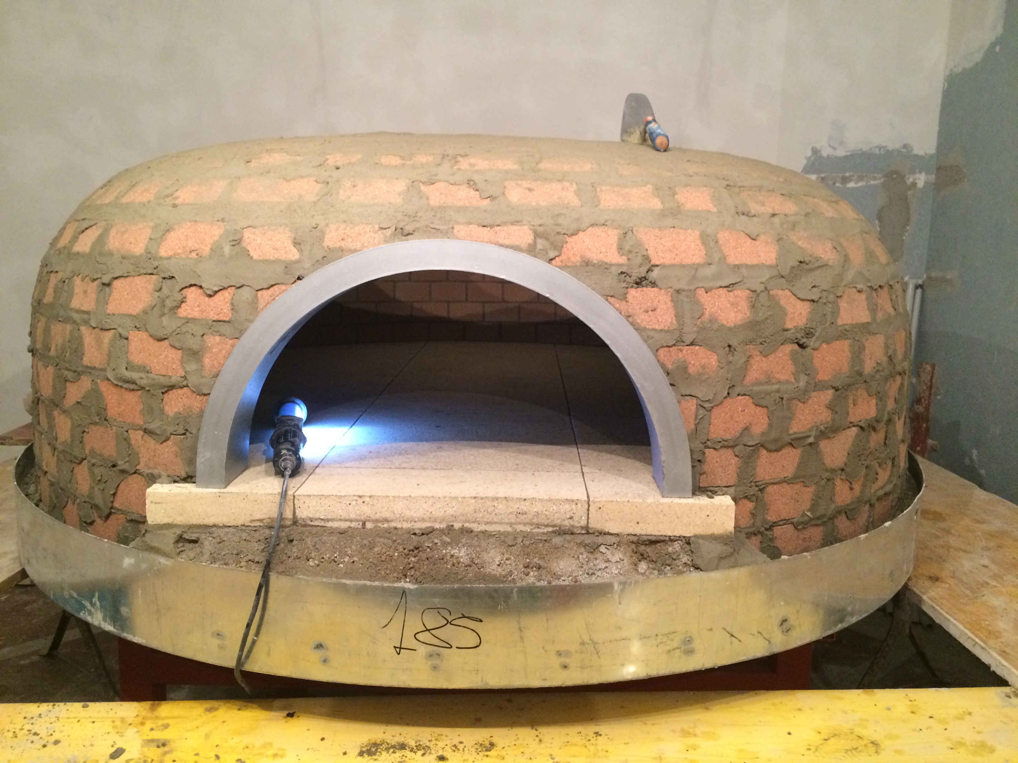 Traditional Dual Fuel Wood Amp Gas Pizza Oven Esposito