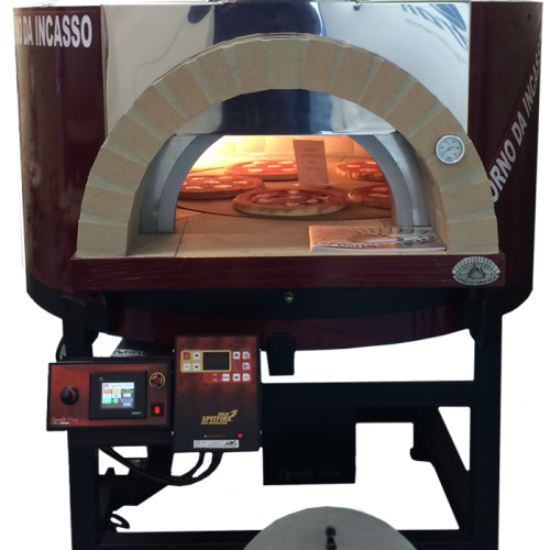ARTISAN Commercial Dual fuel Wood & Gas Pizza Oven —  Metal or Rendered Body