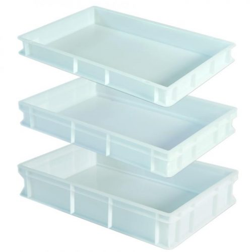 Stackable Pizza dough tray 600x400x70