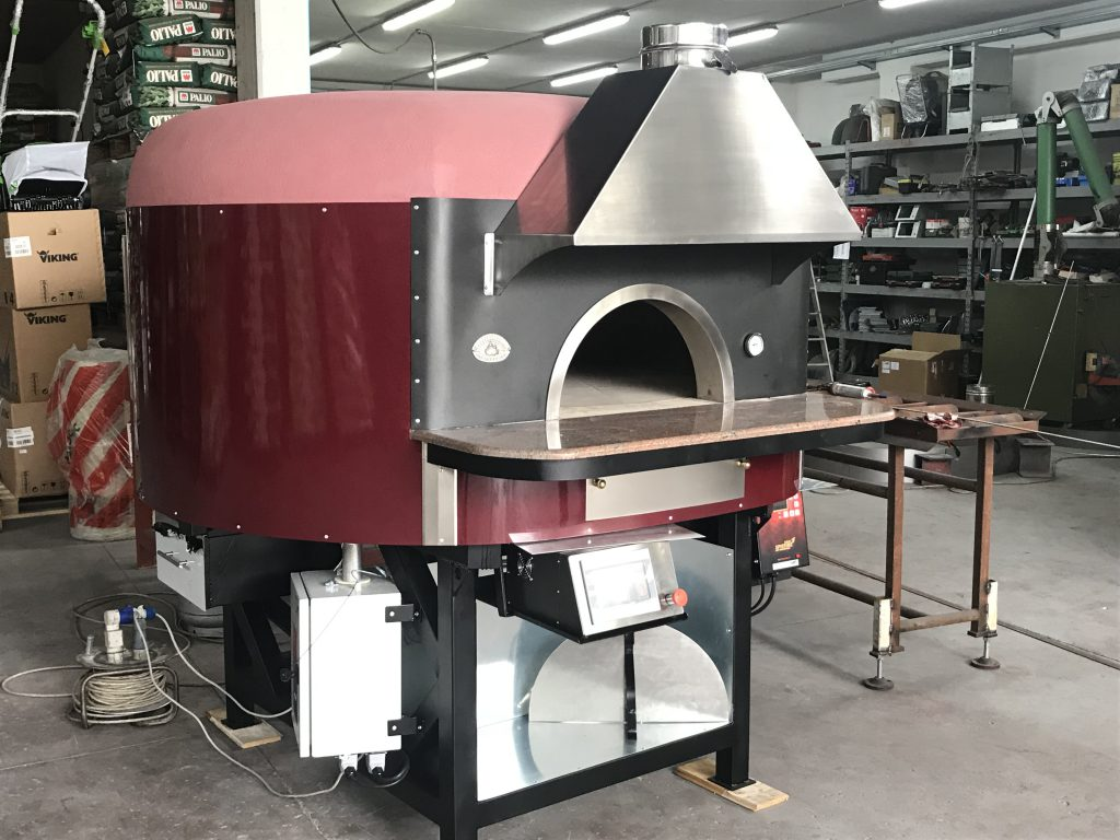 Artisan Commercial Dual Fuel Wood Amp Gas Pizza Oven Metal