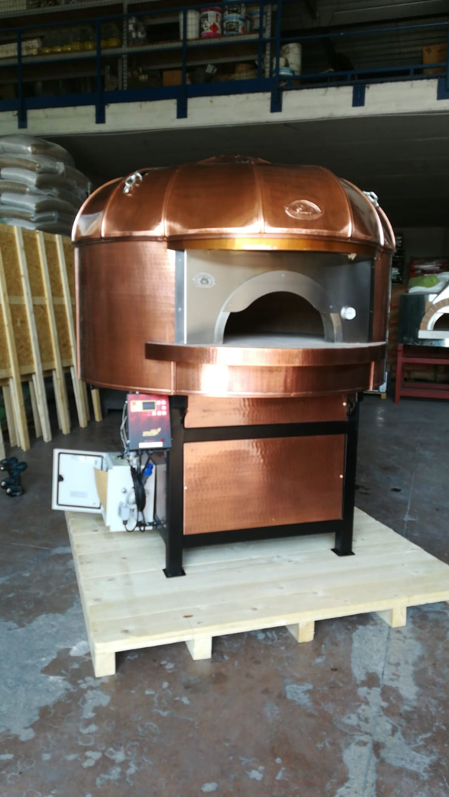 Artisan Commercial Wood Fired Oven Customised Copper
