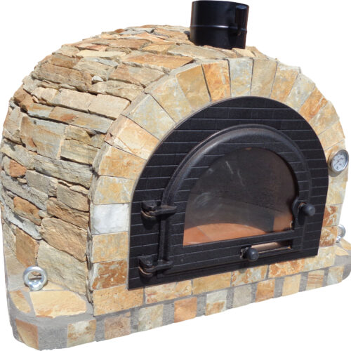 *GRAND PRICE REDUCTION Traditional oven 120cm x 120cm - Vegas Yellow Rustic Stone Model