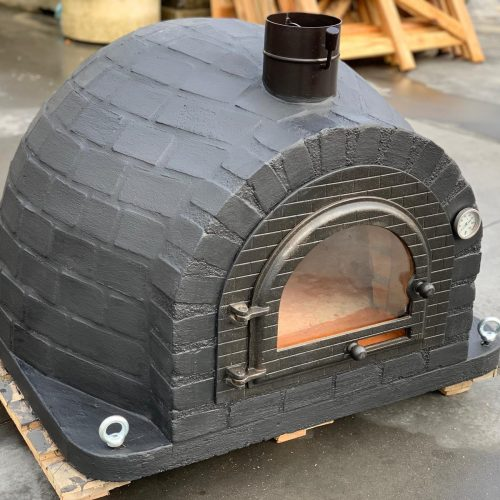 RUSTIC BRICKS BLACK LABEL design Traditional oven Ver1