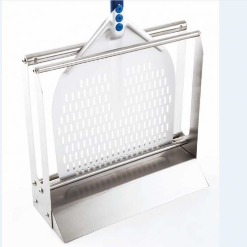 Gi metal Support / Rack / Stand in stainless steel for pizza peels