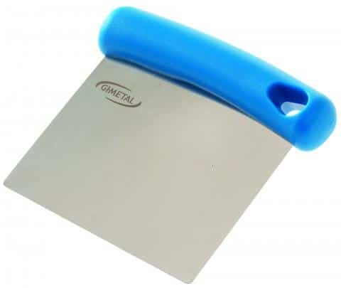 Gi metal Dough cutter/ flexible scraper