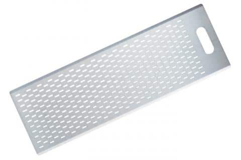 Gi metal AZZURRA Perforated board for pizza by the meter 30x90 cm