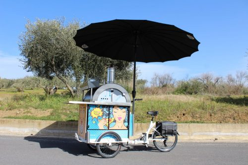 Pizza Bike / Pizza Trike / Pizza Tricycle / Pedlar's pizza