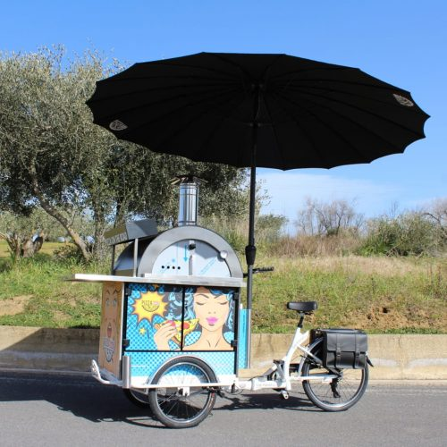 Pizza Bike / Pizza Trike / Pizza Tricycle / Pedlar's pizza