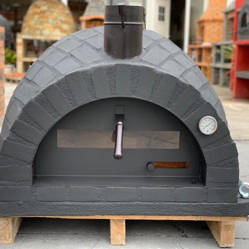 RUSTIC BRICKS BLACK LABEL design Traditional oven Ver2