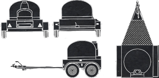 Mobile Pizza Oven - Draft