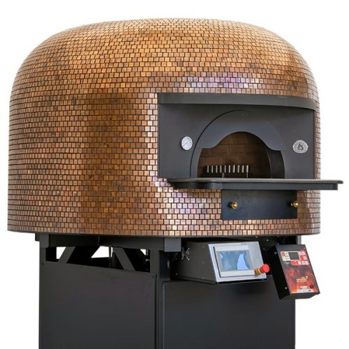 Artisan mosaic finish of Esposito Forni pizza ovens